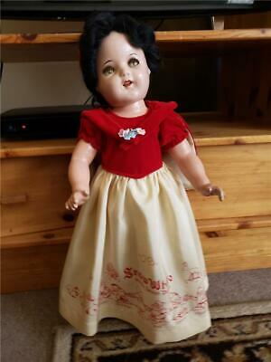 Beautiful Recreated Dress and Cape for Ideal Snow White Composition Doll