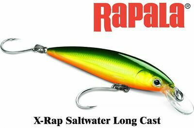 Rapala X-Rap Long Cast,SXRL-14,//14sm.-54gr.//Color:HGP,//Hot Gold Pink //Saltwater