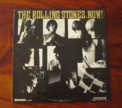 The Rolling Stones. Now. NM- Rock LP Red Mono FFRR Boxed London