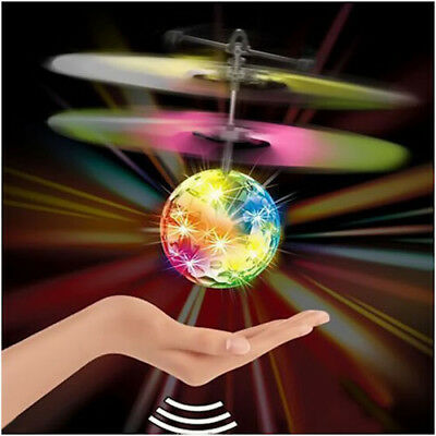 Toys for Boys 3 4 5 6 7 8 9 10 Year Old Flying Ball LED Flashing Light Up Gift