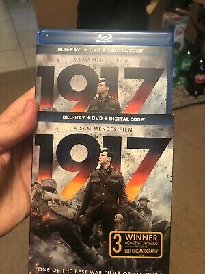 1917  (2020 BLU-RAY & Dvd ) With Slip Cover. No Digital Code. Free Ship