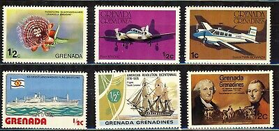 Grenada Six(6) Pictorial Issue From Around 1976 Vfnh