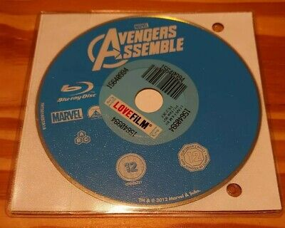 Avengers Assemble Blu-ray (2012) Robert Downey Jr, Whedon (DIR) cert 12