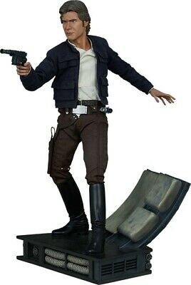 "STAR WARS - Han Solo 20"" Premium Format Statue (Sideshow Collectibles) #NEW"