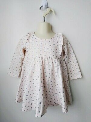 SEED HERITAGE Girls Pink Daisy Floral Dress - Size 1