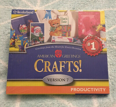 American Greetings Crafts! - Version 7 - PC CD-ROM