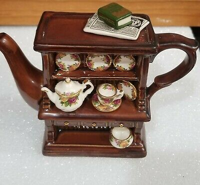 Old Country Roses Mint Royal Albert Teapot Earthenware By Paul Cardew