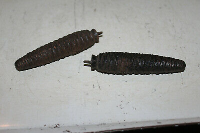 Antique Cuckoo Clock Weights Pinecone Black Forest Lot 2 275 ET Rare