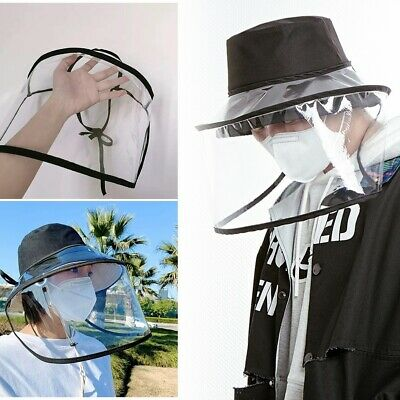 Universal Anti Droplet Dust-proof Full Face Protective Cover Mask Visor Shield