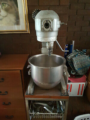 Hobart A200 Planetary Dough Mixer 240V very good condition - with stand