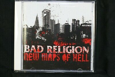 Bad Religion ‎– New Maps Of Hell   - New Sealed CD (C1194)