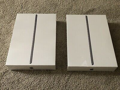 TWO Apple iPad 7th Gen. 32GB, Wi-Fi, 10.2 in Grey! New in Sealed Box A2197