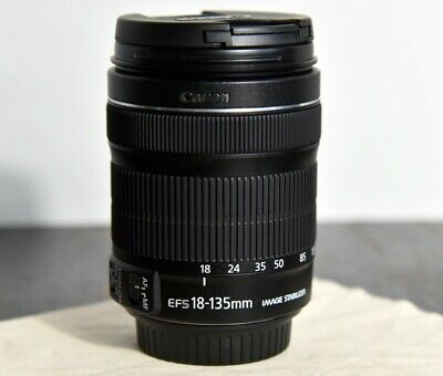 Canon EF-S 18-135mm f/3.5-5.6 IS STM Lens - Virtually New