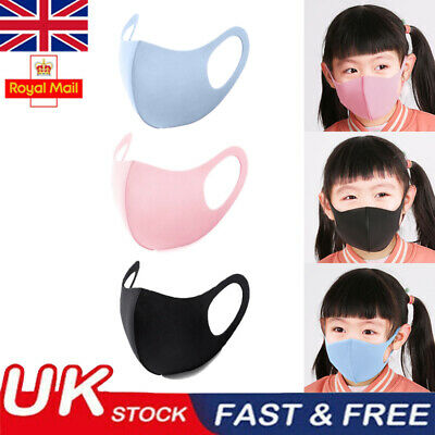 Child Kid 3/6/10 Pack Breathable Anti Haze PM 2.5 Face Mouth Mask Respirator
