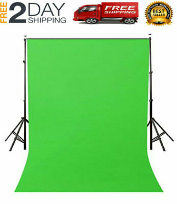 Vlog Streaming Youtube Photography Green Background Screen Portable Stand Photo