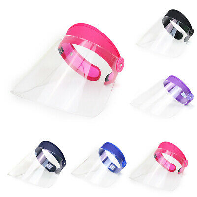 Full Face Shield Clear Hat Splash Dust Proof Facial Protection Cover Anti Saliva