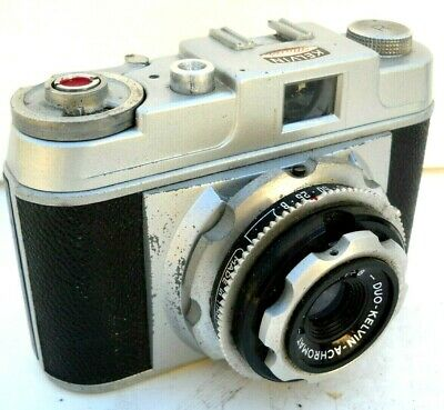 **1950`s KELVIN MAIOR 35mm FILM VIEWFINDER CAMERA/CASE IN VERY GOOD CONDITION**