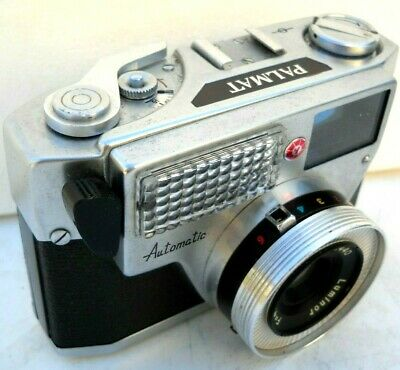 **1960`s PALMAT AUTOMATIC 35mm ROLL FILM  RANGE FINDER CAMERA & CASE VERY GOOD**