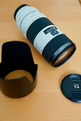 Sony 70-200mm f2.8 SAL70200G  A-mount lens with new SSM focus unit