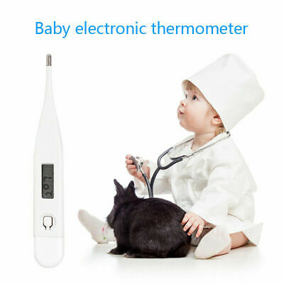 Digital LCD Thermometer Medical Baby Adults Body Kids Safe Ear Mouth