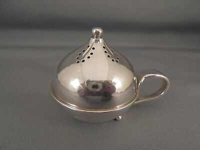 Vintage Georg Jensen Sterling Silver Handled Pepper Pot Shaker