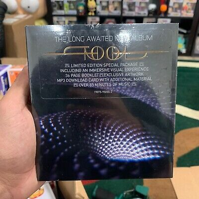 Tool Fear Inoculum Deluxe Edition SEALED and IN HAND