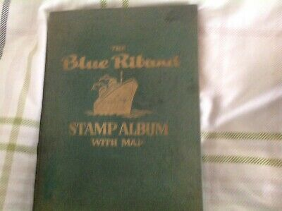 stamp albums with stamps