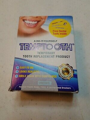 Temptooth Do It Yourself Temporary Tooth Replacement Product