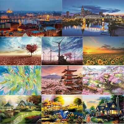 1000 Piece Jigsaw Puzzle Landscapes Decompression Game Toy Difficulty 70X50 CM