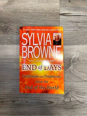END OF DAYS BY SYLVIA BROWNE PAPERBACK BOOK FREE EXPEDITED 2 DAY SHIP In US