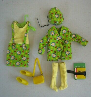 1960's Mattel Skipper Hearts 'N Flowers #1945 Outfit NM Complete #BM138