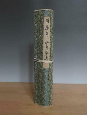 Ming Dynasty Tang Yin Signed Old Chinese Hand Painted Calligraphy Scroll
