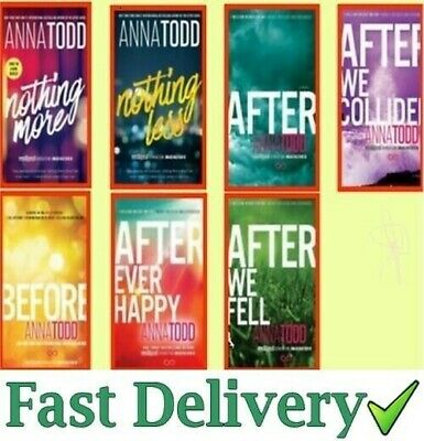 After Serie Complete Set (Book 1-7) by Anna Todd ✅