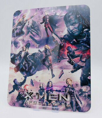 X-MEN APOCALYPSE Glossy Bluray Steelbook Magnet Magnetic Cover (NOT LENTICULAR)