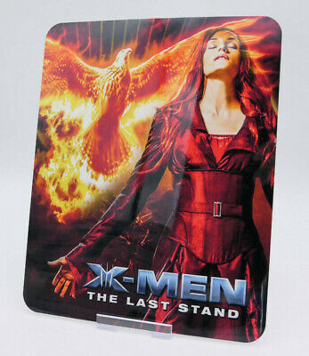 X-MEN 3 LAST STAND Glossy Bluray Steelbook Magnet Magnetic Cover NOT LENTICULAR