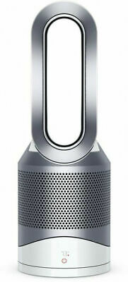 Dyson HP01 Pure Hot + Cool 400 Sq. Ft Air Purifier Heater Fan White Silver
