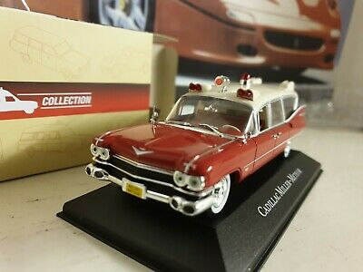 Atlas Editions - Cadillac Miller Meteor - 1/43.Scale - Ambulance Collection