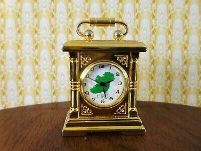 A quality Irish carriage clock made by the Wm Widdle ~ Stunning ~