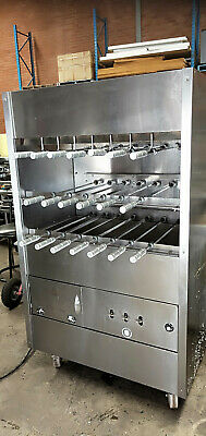Brazilian gas BBQ rotisserie, commercial