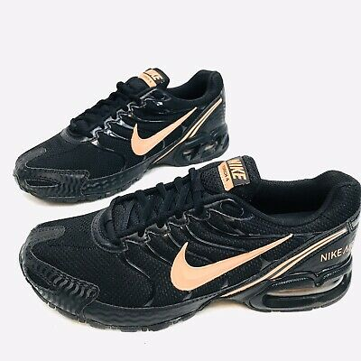Women's Nike Air Max Torch 4 Running Shoes Size 8.5 Black Rose Gold 343851-012