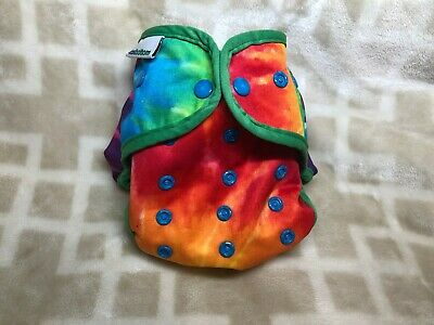 Best Bottom One Size Cloth Diaper Cover Shell Snaps UNISEX Tie Dye