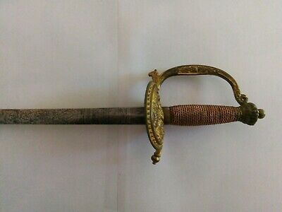 English Court Sword