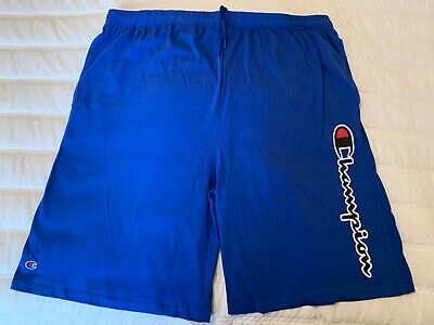 Men's Size 4X Champion Sport Shorts Blue NWOT Big & Tall New Shorts Very Nice!!