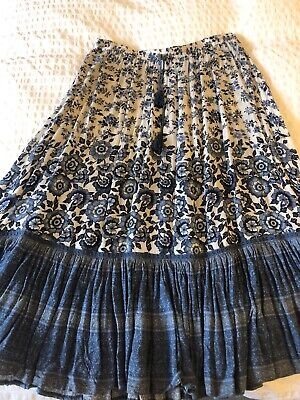 Spell And The Gypsy Elle Midi Skirt Size Small