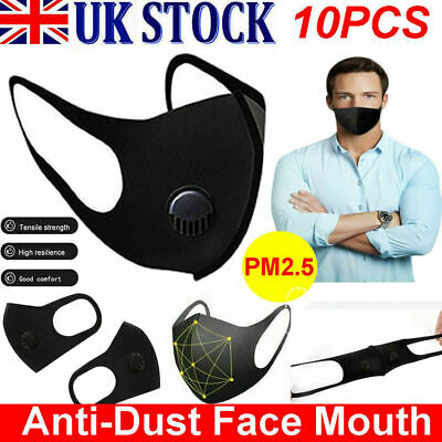 1Pc Adult Kids Mask Breathable Haze Face Mouth Mask Respirator