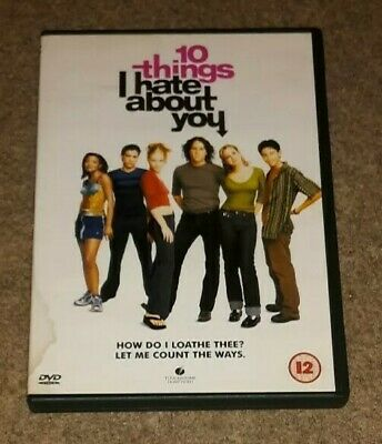 10 Things I Hate About You (DVD, 1999) Please Read Description