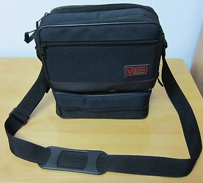 Photo Cameras Equipment Shoulder Carry 2 Cases Of Vision Professional - Used