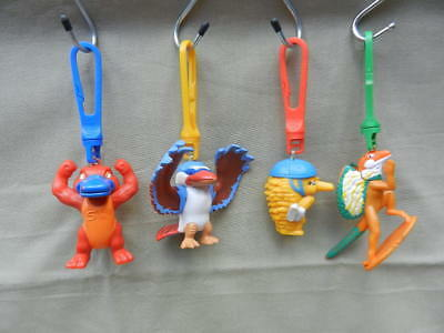Sydney 2000 Olympic Games Mascot KEY RINGS Olly, Syd, Millie & Lizzie