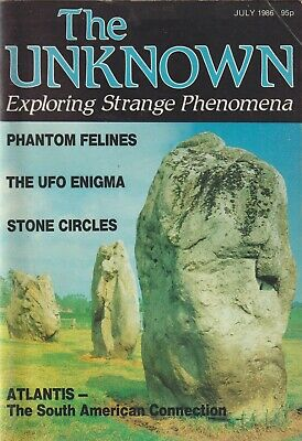 The Unknown, Exploring Strange Phenomena, July 1986 - Phantom Cats, Atlantis