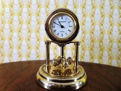 A quality Anniversary carriage clock made by the Wellington clock company